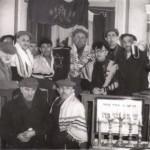 Modlitwa w synagodze - 1955